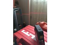HILTI Lazier Level PML32 (this not Festool, DeWalt, Milwaukee, Bosch, Hitachi or makita)