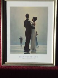 Jack Vettriano Print 'Dance me to the end of love'