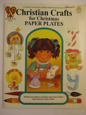 Paper Plate Christmas Crafts (Christian Crafts for Christmas using Paper Plates Acttivity Book Bible)