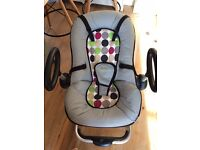 Beaba up and down chair - baby rocker height adjustable - excellent condition