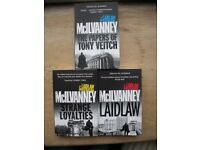 Laidlaw Trilogy by William Mcilvanney (the original Scottish noir)