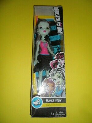 Frankie Stein doll Monster High new in box Frankenstein daughter halloween ghoul - Monster High Frankie Stein Halloween