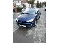 Peugeot 206 2005 1.4 Auto, hpi clear 2 owner £995