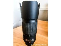 AF-S VR Zoom-Nikkor 70-300mm f/4.5-5.6G IF-ED FX ( will also fit DX giving 105-450mm )