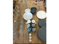 CHEAP TABLEWARE + GLASSES and more!