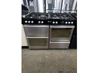 STOVES stainless steel 110CM RANGE COOKER IN GOOD WORKING ORDER(BRING YOUR OLD ONE AND GET NEW-25%)