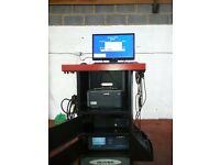 MOT Gas Analyzer For Petrol and Diesel Cars/Vans Oliver 9500 Ideal For Home/Work