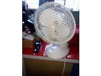 Desk fans x3 for sale