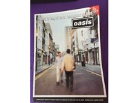 Oasis What's The Story Morning Glory Guitar Tab Book