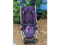 iCandy Cherry Pushchair/Stroller in Mulberry Colour