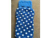 John Lewis Blue Star Design Universal Footmuff RRP £30