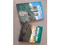 Two hardback Books about places to visit in Britain