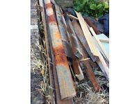 Free Wood floor joists (100 year old!) 200cm x 10cm x 5cm