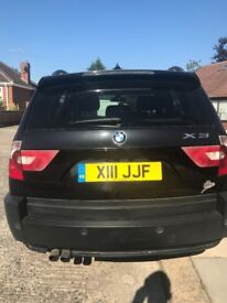 X3 BMW LPG converted with private plate number X111JJF