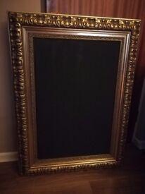 Beautiful Large Ornate Framed Chalkboard Weddings/Shop Display/Restaurant/Cafe Specials