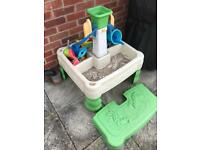 LITTLE TYKES WATER AND SAND TABLE