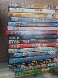Kid's DVD bundle £15