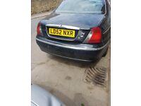 Rover 75 2.0 diesel automatic spares or repair