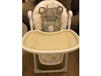 Mothercare teddy bear high chair
