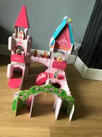 Wooden princess castle