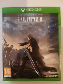 final fantasy 15 xbox one only used twice