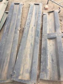 Steel tipper sides and back door