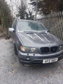2001 BMW X5 3.0 DIESEL BREAKING FOR PARTS