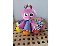 Pink lamaze octotunes toy