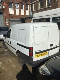 09 Vauxhall combo spares repair van 1.3 diesel non runner