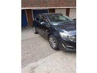 Vauxhall astra new shape 2.0 cdti 63 plate