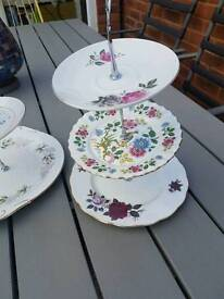 Large collection of mix & match vintage china