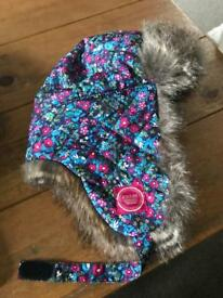 Joules Girls hat age 7-10