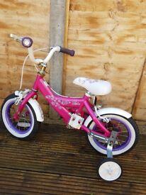 Girls small bike