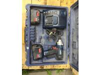 AEG 14.4v IMPACT DRIVER WITH CHARGER