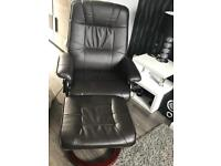 massage chair & stool for sale.