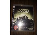 PS3 Fallout 3 Game