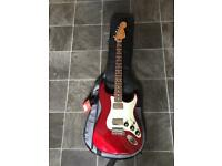 Fender Blacktop Stratocaster HH (2010-2014) Red Brand New Electric Guitar