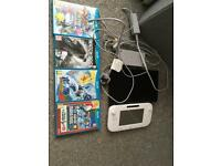 Wii u and 4 games
