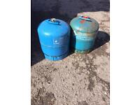 Camping gas cylinders