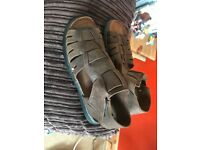 Size 7 Cotton Trader Shoes & size 7 Moshulu Sandals