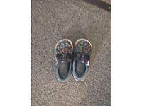 Clarks boy shoes 8 1/2