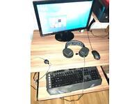 Desktop Gaming sistem PC with video card GeForce 6Gb