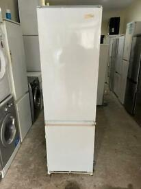 Indesit 70/30 White Colour Integrated Fridge Freezer With Free Delivery 🚚