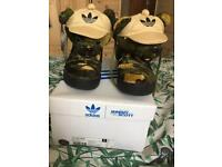 Jeremy Scott Adidas Trainers Camo Bear