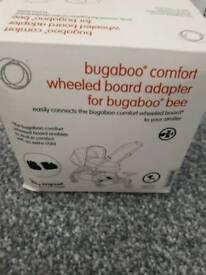 Buggy board adapter