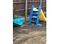 FREE little tikes slide and seesaw
