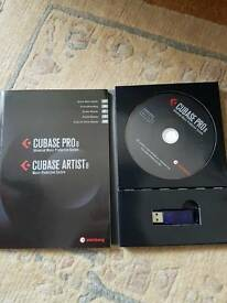 Cubase Pro 8 with free update
