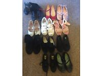 Bag of kids shoes sizes 12, 13 and 1