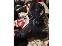 Sidi Blue Motorcycle Boots size 44