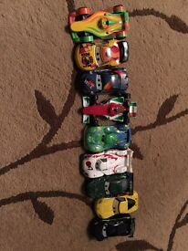 Disney lightening McQueen car collection